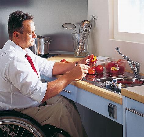 küche - barrierefrei-wohnen-und-leben.de - Koschere Küche